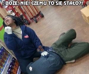 Tragedia w supermarkecie