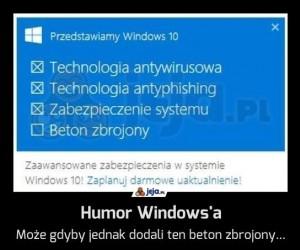Humor Windows'a