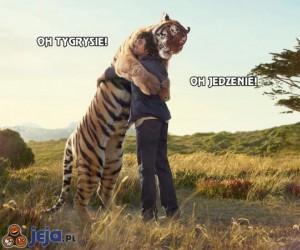 Oh tygrysie! Oh jedzenie!