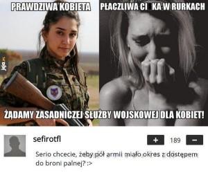 Służba wojskowa dla kobiet