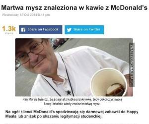To co, darmowa kawka z McD?