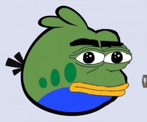 Rzadki Angry Pepe