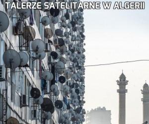 Talerze satelitarne w Algerii