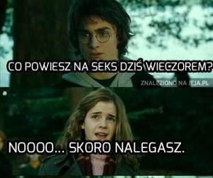 Horny Potter i napalona Hermiona