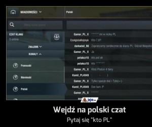 Wejdź na polski czat