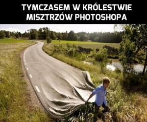 Tymczasem w królestwie mistrzów Photoshopa