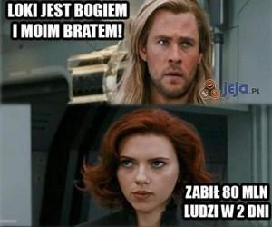 Thor szybko zmienia zdanie...