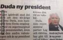 Polski prezydent według szwedzkiej gazety