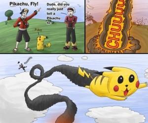 Pikachu może latać? Może.