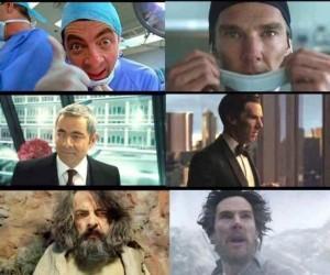 Johny English vs Doktor Strange