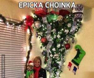 Epicka choinka