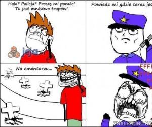 Jak strollować policjanta