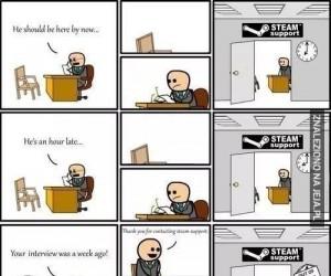 Rekrutacja do Steam'a