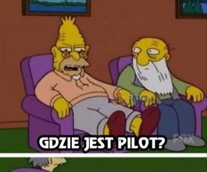 Pilot zawsze jest za daleko żeby wstać