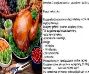 Świąteczne potrawy - Przepis na kurczaka