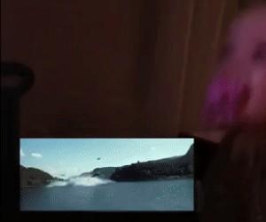 Pierwsza reakcja dziecka na trailer Gwiezdnych Wojen