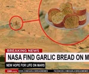 Pieczywo czosnkowe na Marsie!
