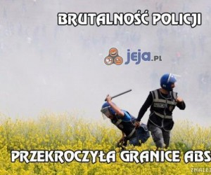Brutalność policji