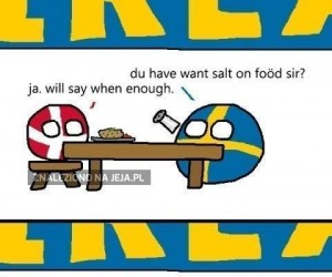 Macie trochę soli?