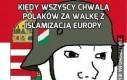 Kiedy wszyscy chwalą Polaków za walkę z islamizacją Europy