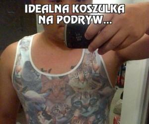 Idealna koszulka na podryw...
