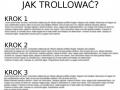 Instrukcja dla początkującego trolla