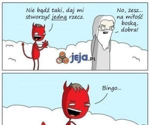 Szatańskie stworzenie