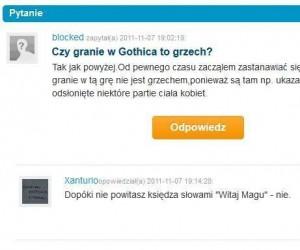 Problemy z Gothiciem