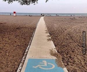 Nie zawadziłoby na każdej plaży