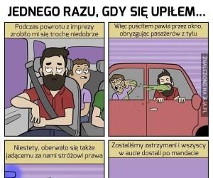 Prawdziwe pijackie opowieści z formie komiksów cz. 4