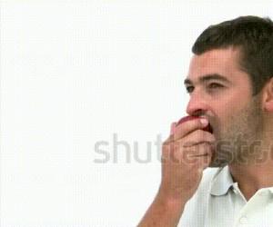 Kiedy jesz jabłko