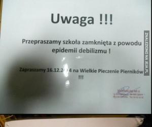 Tymczasem w polskich szkołach