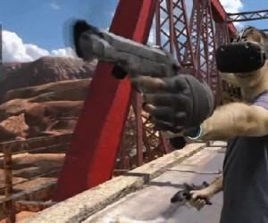 Strzelanina w wirtualnej rzeczywistości