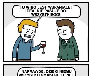 Wino dobre do wszystkiego