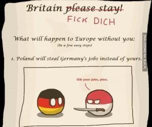 Co się stanie, gdy Wielka Brytania opuści Unię Europejską