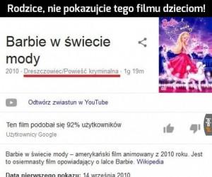 Niebezpieczna Barbie