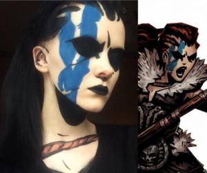 Makijaż w stylu Darkest Dungeon