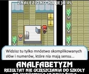 Problemy w Pokemonach