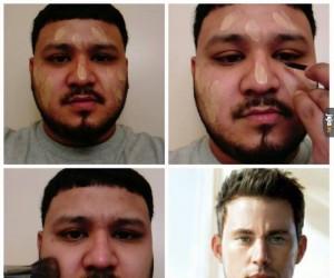 Gdyby faceci używali makijażu