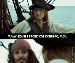 Mamy szansę zrobić coś dobrego, Jack...