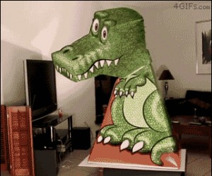 Straszna rzeźba