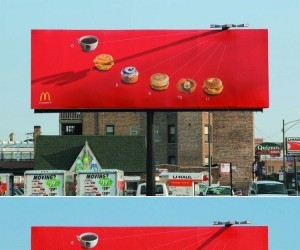 Reklama śniadań McDonalda