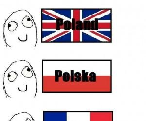 Polska w różnych językach