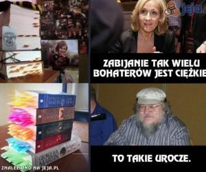 Rowling vs Martin