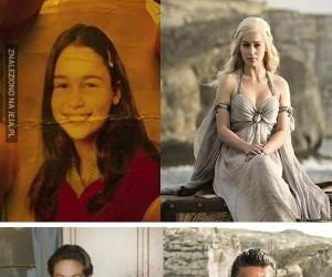Fotki z dzieciństwa obsady Gry o tron