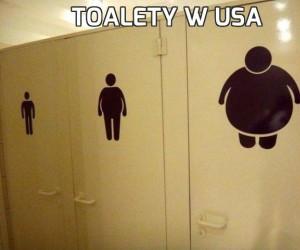Toalety w USA
