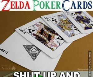 Pokerowa talia Zelda
