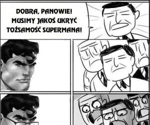 Superman pod przykrywką