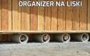 Organizer na liski