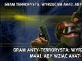 Gram terrorystą: wyrzucam AK47, aby wziąć M4A1